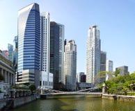 Moderner Wolkenkratzer im Bau Lizenzfreie Stockfotografie