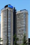 Moderner Wolkenkratzer, Madrid, Spanien Stockbilder