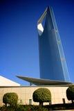 Moderner Wolkenkratzer in Saudi-Arabien Lizenzfreie Stockfotos