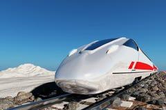 Moderner Zug stock abbildung