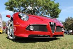 Modernes Alpha Romeo Stockbild