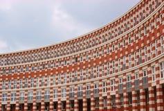 Modernes arc-shaped Gebäude Stockbild