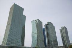 Modernes archeticture von Astana, Kasachstan Lizenzfreie Stockfotos