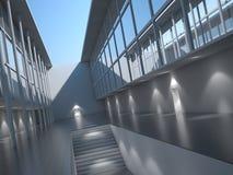 Modernes Architekturäußeres Vektor Abbildung