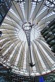 Modernes Architekturdach Stockbild