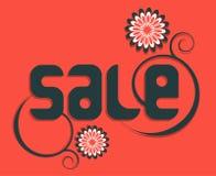 Modernes Art-Verkaufs-Tag-Design Lizenzfreies Stockfoto