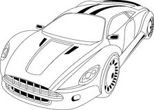 Modernes Auto Lizenzfreies Stockbild