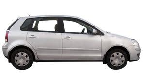 Modernes Auto wird getrennt Stockbild