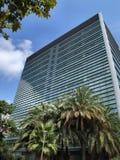 Modernes Büro Highrisegebäude stockfoto