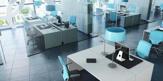 Modernes Büro im Turm lizenzfreie abbildung