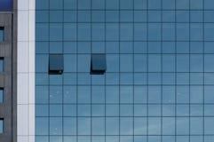 Modernes Bürohausäußeres Stockfotos