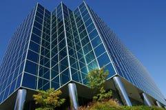 Modernes Bürohaus Stockbild