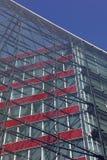 Modernes Bürohaus in Hamburg lizenzfreies stockfoto