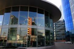 Modernes Büroviertel Stockfoto