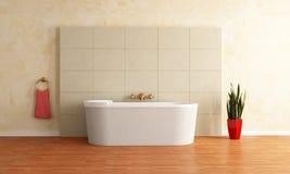 Modernes Badezimmer Stockbild