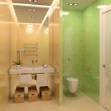 Modernes Badezimmer. Lizenzfreie Stockfotografie