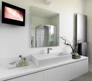 Modernes Badezimmer Lizenzfreies Stockbild
