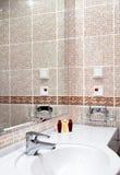 Modernes Badezimmerzubehör Lizenzfreie Stockbilder