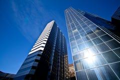 Modernes Bankgebäude Stockbild