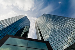 Modernes Bankwesen Lizenzfreies Stockfoto