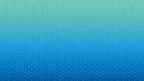 Modernes blaues Punktmuster Stockbild