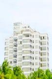 Modernes Block-Haus in Ecuador Lizenzfreies Stockbild