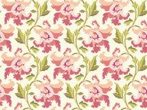 Modernes Blumenmuster Stockbilder