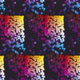 Modernes buntes Muster mit Farbquadrat Stockfotografie
