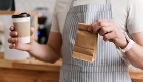 Modernes Cafégeschäft Lizenzfreie Stockbilder
