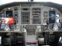 Modernes Cockpit Lizenzfreies Stockbild