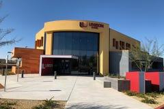 Modernes Design von einer Bank in Gilbert Arizona lizenzfreie stockbilder
