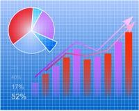Modernes Diagramm Stockfoto