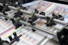 Modernes Druckenhaus Stockfotos