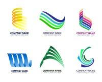 Modernes Eigentums-Geschäft Logo Icon Template Lizenzfreie Stockfotos