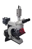 Modernes elektronisches Mikroskop Stockfoto