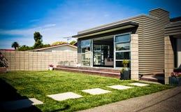 Modernes Entwerfer-Haus stockfoto