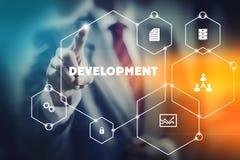 Modernes Entwicklungskonzept stockbild