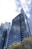 Modernes errichtendes im Stadtzentrum gelegenes Vancouver Lizenzfreie Stockfotos