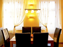 Modernes Esszimmer Lizenzfreies Stockbild