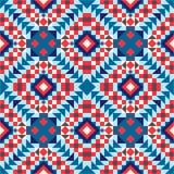 Modernes, ethnisches nahtloses Muster Lizenzfreie Stockbilder