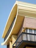 Modernes Fassadedetail Stockbilder