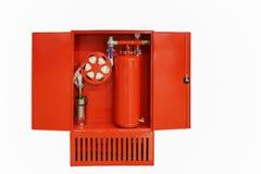Modernes Feuerschild für industriellen Gebrauch Stockbilder