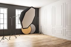 Modernes Fotostudio vektor abbildung