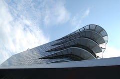 Modernes futuristisches Gebäude Stockfotografie