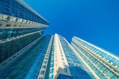 Modernes Gebäudeäußeres stockbild