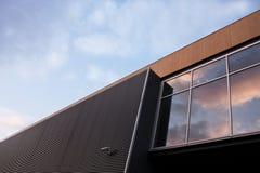 Modernes Gebäudeäußeres Stockbilder
