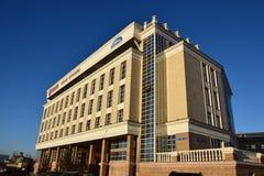 Modernes Gebäude in Astana lizenzfreies stockfoto
