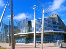 Modernes Gebäude in Christchurch Stockfotografie