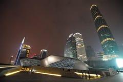 Modernes Gebäude in Guangzhou Stockfotografie