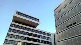 Modernes Gebäude in Hamburg, Deutschland Stockfotografie
